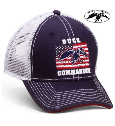 D.Commander American Flag Mesh Back Cap