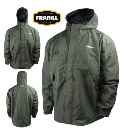 Frabill F1 Storm Jacket (S)- Dark Green