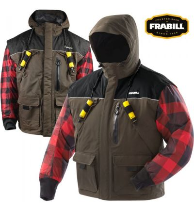 Frabill I3 Series Jacket (S)- Brown Woodsman