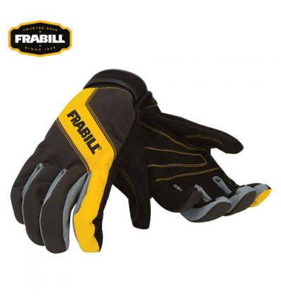 Frabill All Purpose Task Glove (XL)- Black/Yellow