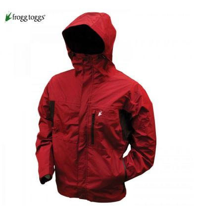 Frogg Toggs Toad Rage II Jacket (XL)- Brick/Black