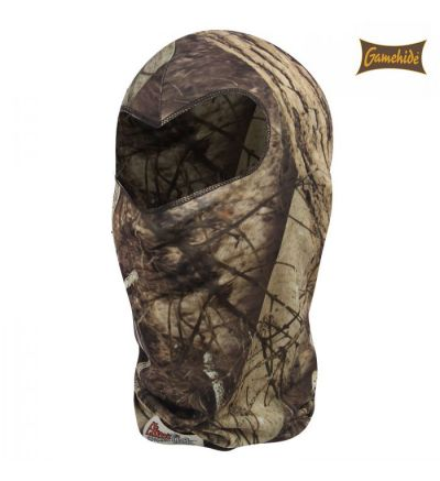 Gamehide Elimitick Full View Facemask- Naked North Camo