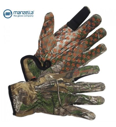 Manzella White Tail St Bow Gloves (L)- RTX