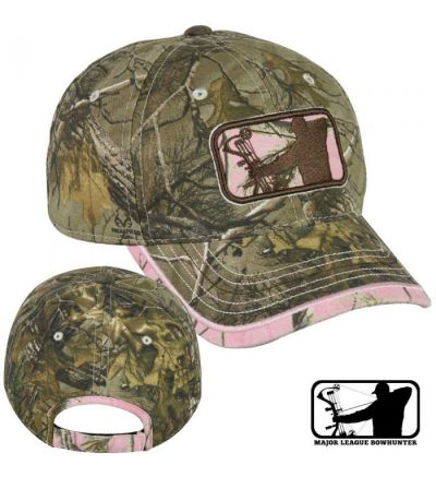 Realtree MLB Ladies Cap- RTX/Pink RTAP