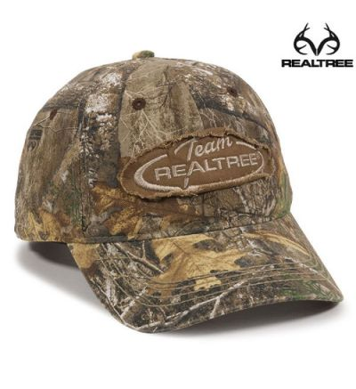 Team Realtree Frayed Patch Cap- RTX