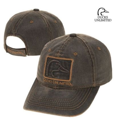 Ducks Unlimited Frayed HPDW Cap- Brown