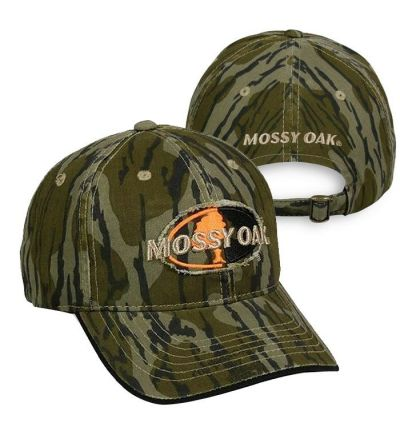 Mossy Oak Raised Frayed Patch Cap-MOBL