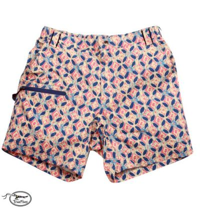 TrueFlies Shell Creek Sevens Shorts (XS)- Batik