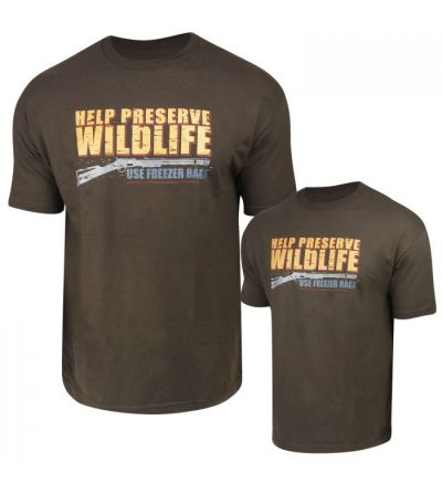 Preserve Wildlife T-Shirt (XL)- Timber Brown