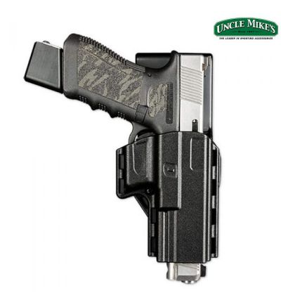 Uncle Mike's Tactical Reflex Competition Holster S&W M&P RH (09)- Black