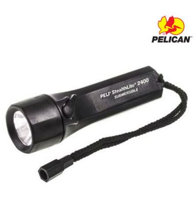 Pelican 2400C StealthLite Flashlight- Black