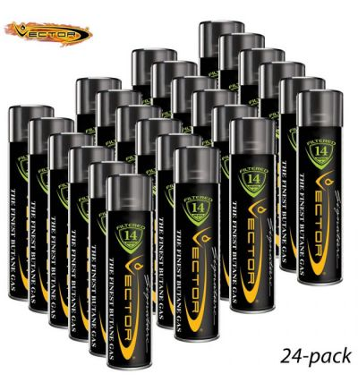 Vector Butane - Quintuple-Refined (24 Cans)
