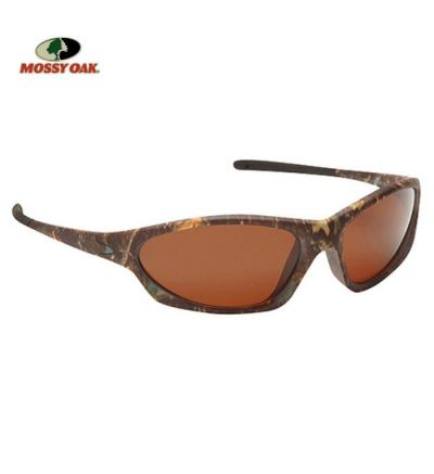 Mossy Oak Sniper Polarized Sunglasses- MOINF/Amber