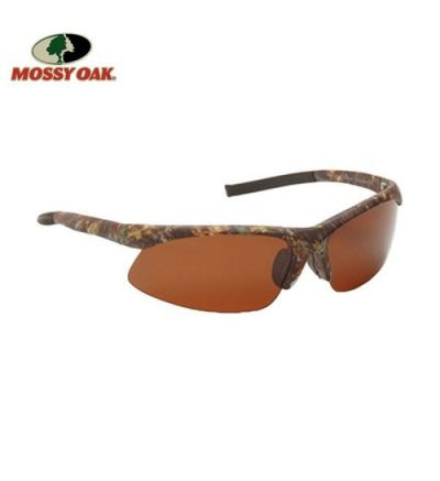 Mossy Oak Full Sport Polarized Sunglasses- MOINF/Amber