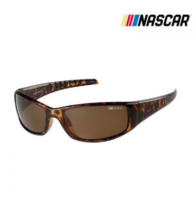NASCAR Sunglasses Draft Polarized- Brown Demi/Amber