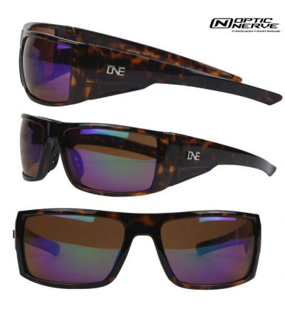 Optic Nerve One Steelhead Polarized Sunglasses- Demi Brown/Amber