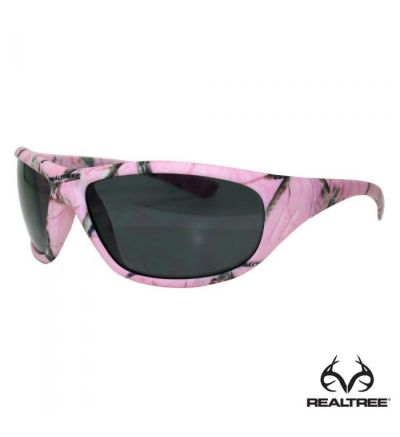 Realtree Delta Pink Camo Polarized with Grey Lens