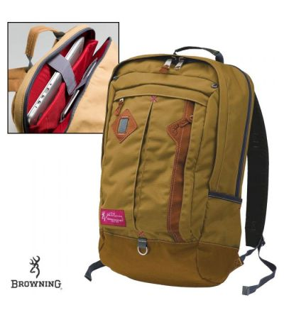 Browning Heritage Taos Commuter Day Pack- Wood Thrush