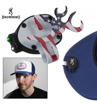 Browning Buckmark Cap Light - American Flag