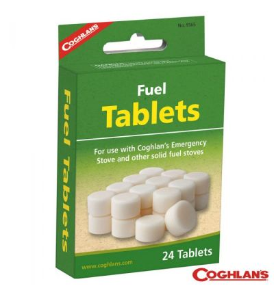 Coghlans Fuel Tablets - Box/24 Tablets