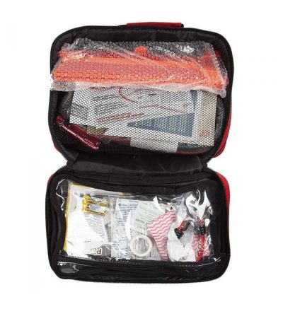 Lifeline AAA Roadside Emergency 103-pc Premium Traveler Kit