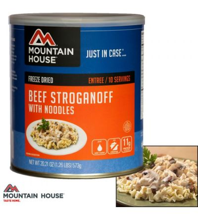 Mountain House Beef Stroganoff w/Noodles (#10 Can)