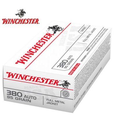 Winchester USA Target 380 ACP 95 gr. FMJ (Box/50)