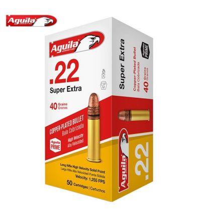 Aguila High Velocity Ammunition 22LR 40 gr. (Box/50)