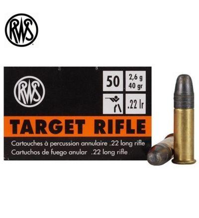 RWS Target 22LR Ammunition LRN 40 gr (Box/50)