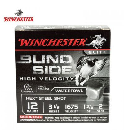 Winchester Blind Side High Velocity Waterfowl 12ga: 3.5