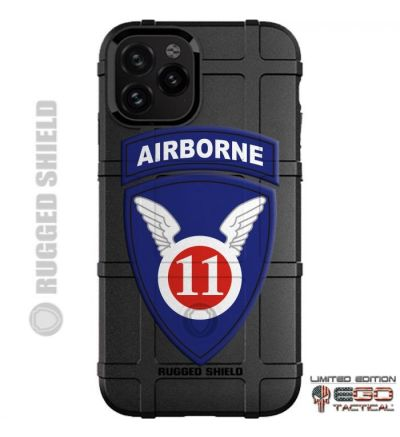 U_S__Army_11th_Airborne_Division_Patch_Phone_Case