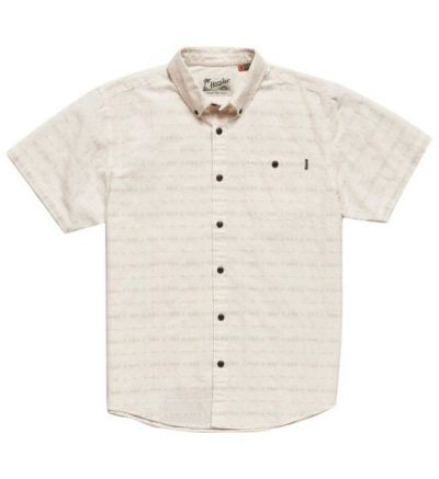 Mansfield Shirt Dobby Sand L