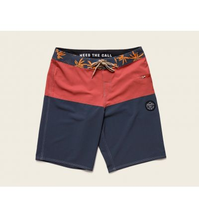 Damian Boardshorts Nvy/Red-36