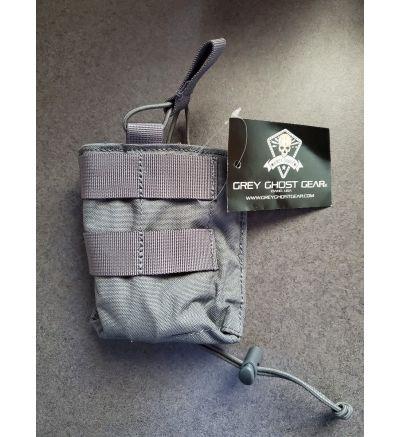 Grey Ghost Gear, Accommodator Rifle Panel, Magazine Pouch, Wolf Grey, Fits AK47,AK74,7.62/.308,5.56 Magazines, 500D Cordura Nylon