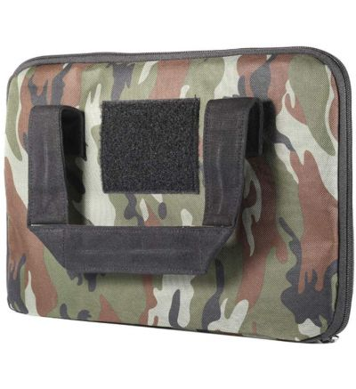 ABSORBITS Ballistics 2.0 Tactical Firearm and Pistol Bag for Dry Storage of Handguns, CAMMO