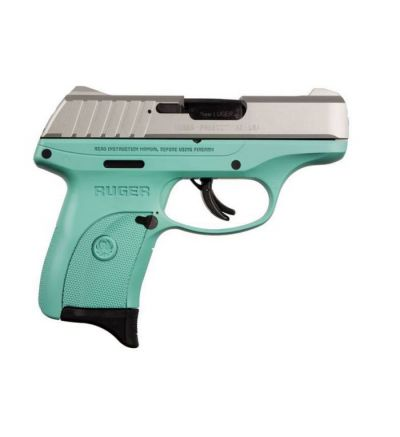 EC9S 9MM SS/TURQUOISE 7+1 FS