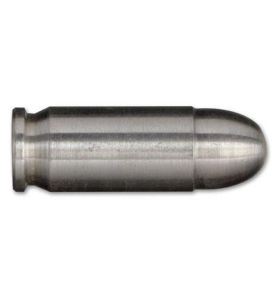 1-oz Silver Bullet – .45 Caliber Pistol Round Replica