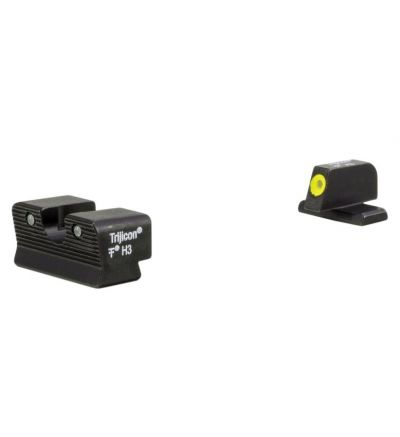 Trijicon HD XR night sight front yellow outline Sig 9mm/.357 600865