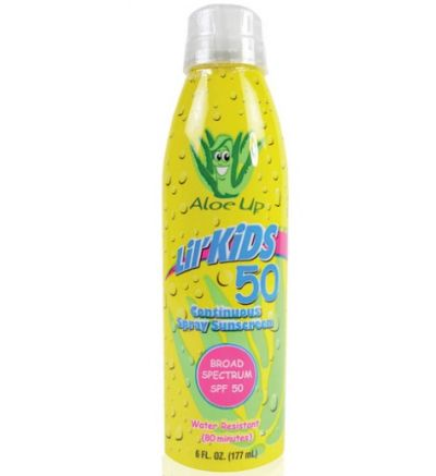 LIL' KIDS SPF 50 CONTINUOUS SPRAY SUNSCREEN