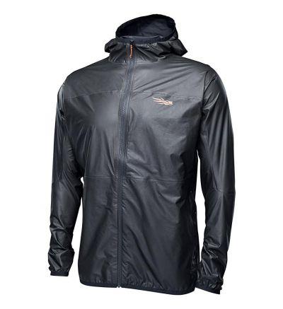 SITKA Gearens Packable Gore-Tex Waterproof Windproof Training Hooded Vapor SD Jacket, Black,