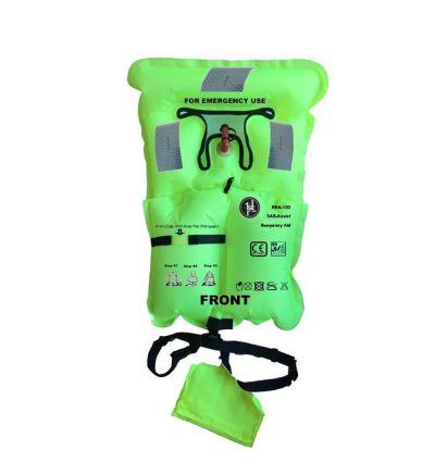 First Watch Micro Inflatable Emergency Vest - Hi-Vis Yellow