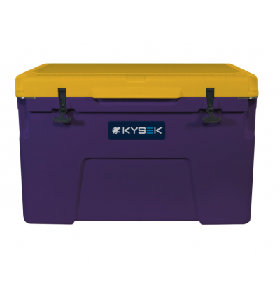 Purple and Gold Ice Chest 75L