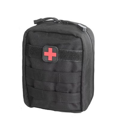 Unigear Black Tactical First Aid Utility Molle Medical Pouch