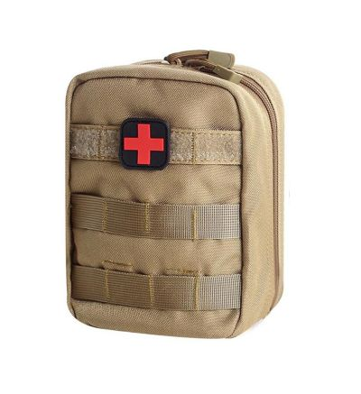 Unigear Desert Tan Tactical First Aid Utility Molle Medical Pouch