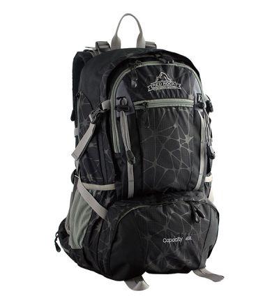 Red Rock Bluff Backpack 40L, black, 1 main pockets