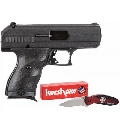 Hi-Point 9mm compact w knife, Serial #P1959133