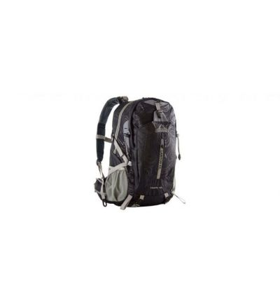Red Rock Canyon Backpack 45L, black, 2 main pockets