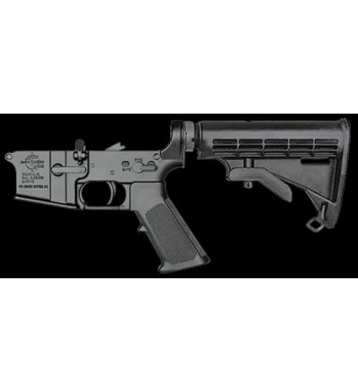 Rock River Arms NM AR lower w 6-position stock (Serial#KT1197640, KT1197643)