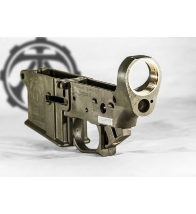 Tennessee Arms Co., AR15 lower, ODG Green, Serial #A000003842