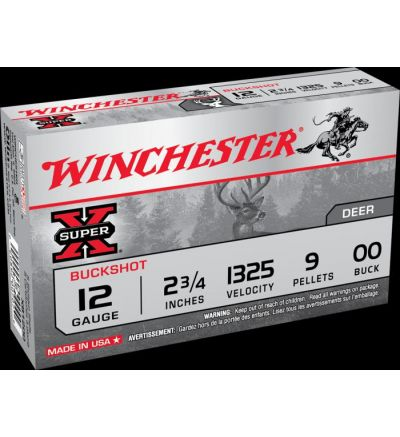 Winchester Super-X 12 Gauge 00 Buck 2.75
